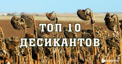 ТОП - 10 Десикантів 2020