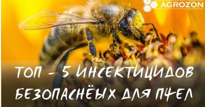 ТОП - 5 Безпечних інсектицидів для бджіл