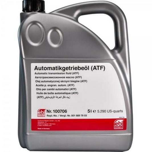 Трансмісійна олива  FEBI ATF MB 236.15 (Каністра 5л)
