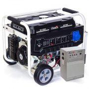 Бензиновий генератор Matari MX7000E + Блок керування ATS 1P50/3P25