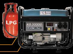 Газобензиновий генератор KS 3000G Konner & Sohnen (гібридний генератор) 000000002
