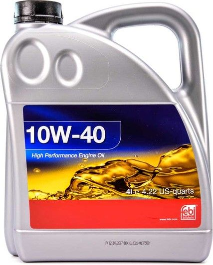 Олива моторна FEBI 10W-40 (Каністра 4л)
