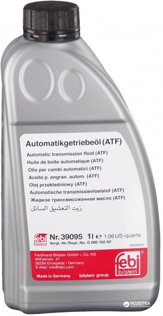 Трансмісійна олива   FEBI ATF ZF (Каністра 1л)