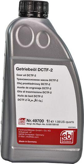 Трансмісійна олива  FEBI DCTF-2 (Каністра 1л)