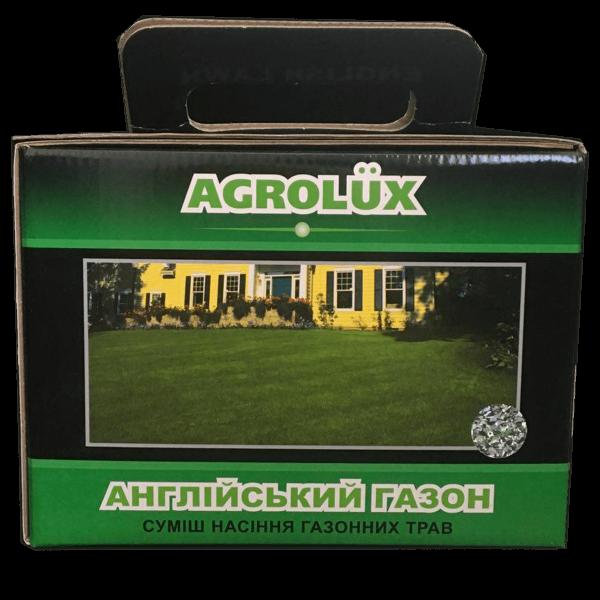 Газонна травосуміш Англійський Газон AGROLUX