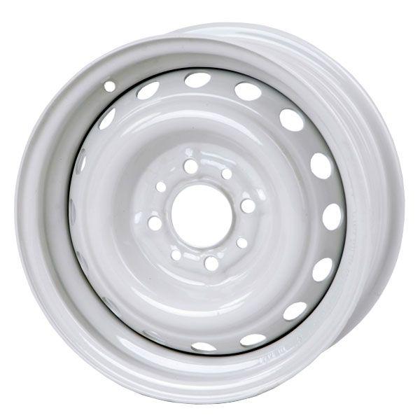 Диск колісний 15х6, 0 УАЗ білий (вир-во КрКЗ)