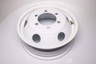 Диск колісний 16H2х5, 5J ГАЗ 3302, IVECO білий (кругли отвори)ДК