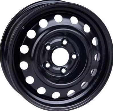 Диск колісний 16х6,5  5x114.3 ET 40 DIA 67.1 Nissan Primera, Qashqai, X-trail (чорний) (вир-во КрКЗ)