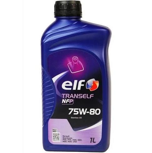 Трансмісійна олива  ELF Tranself  NFP 75W-80 (Каністра 1л)