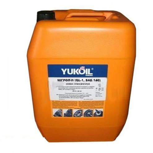 Олива трансм. YUKO Нігрол - Л (GL-1, SAE 140) (17,5кг/каністра 20л)