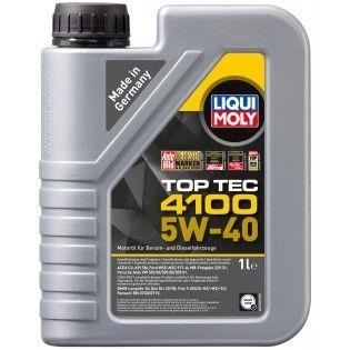Олива моторна Liqui Moly TOP TEC 4100 5W-40 API SN/CF; ACEA A3/B4/C3 (Канистра 1л)