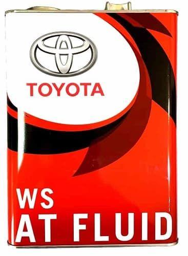 Масло трансмісійне ATF WS, 4л   (вир-во Toyota)