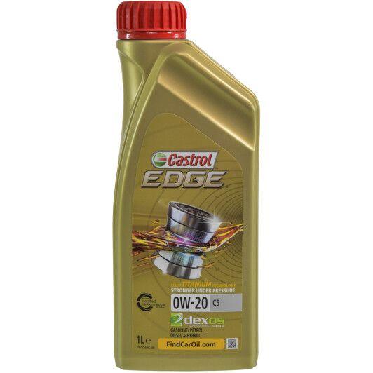 Олива моторна Castrol EDGE 0W-20 C5 (Каністра 1л)