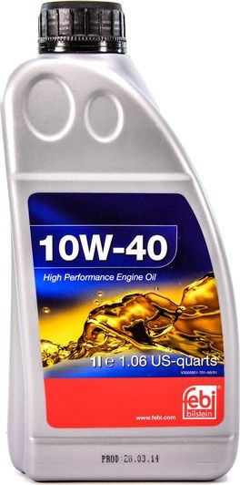 Олива моторна FEBI 10W-40 (Каністра 1л)