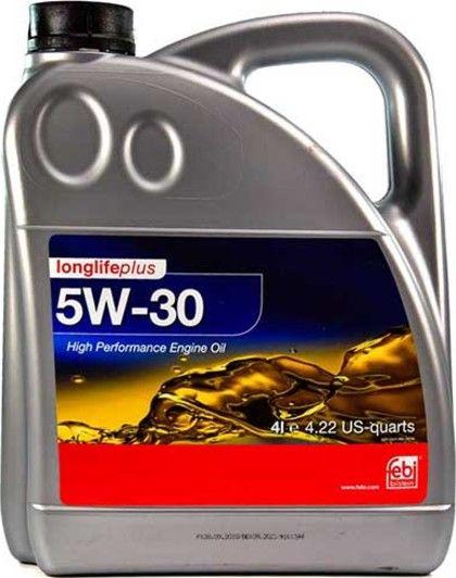 Олива моторна FEBI 5W-30 longlife plus (Каністра 4л)
