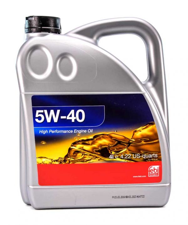 Олива моторна FEBI 5W-40 (Каністра 4л)