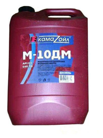 Олива моторна Кама Ойл Дизель М10ДМ SAE 30 CD 10л.