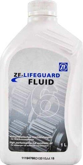 Олива трансмісійне ZF LIFEGUARDFLUID 6 - 1л