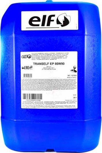 Трансмісійна олива  ELF Tranself EP 80W-90 (Бочка 20л)