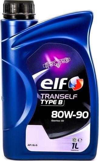 Трансмісійна олива  ELF Tranself TYP B 80W-90 (Каністра 1л)