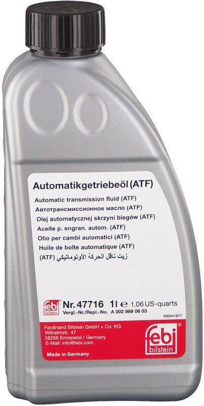 Трансмісійна олива   FEBI ATF MB 236.17 MB 236.16 (Каністра 1л)