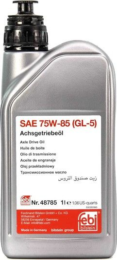 Трансмісійна олива   FEBI SAE 75W-85 GL-5 (Каністра 1л)