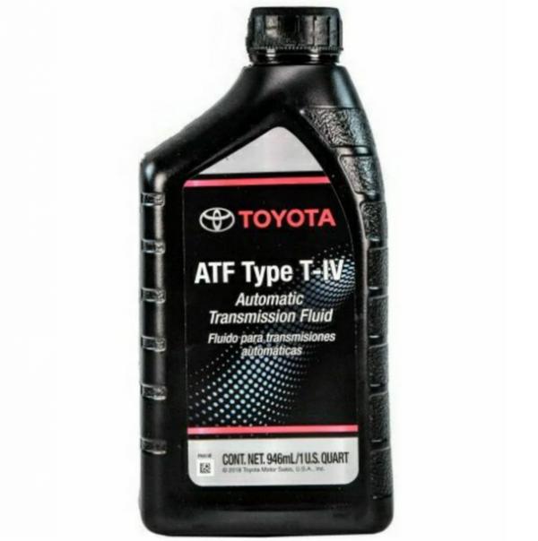 Масло трансмісійне ATF TYPE T4, 1л   (вир-во Toyota)